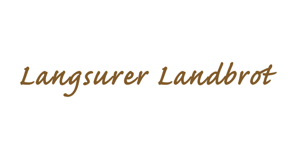 Langsurer Landbrot