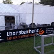 Bandenwerbung Thorsten Heinz