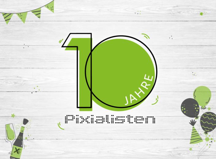 10 Jahre Pixialisten