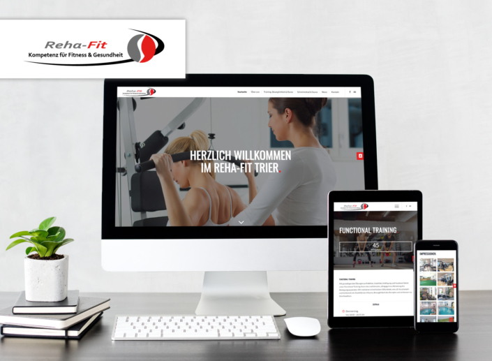 Website-Relaunch für Reha-Fit Trier